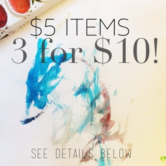 Other - 3 For $10 Sale!!!